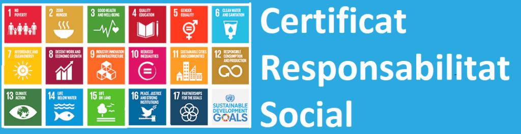 Certificat Responsabilitat Social
